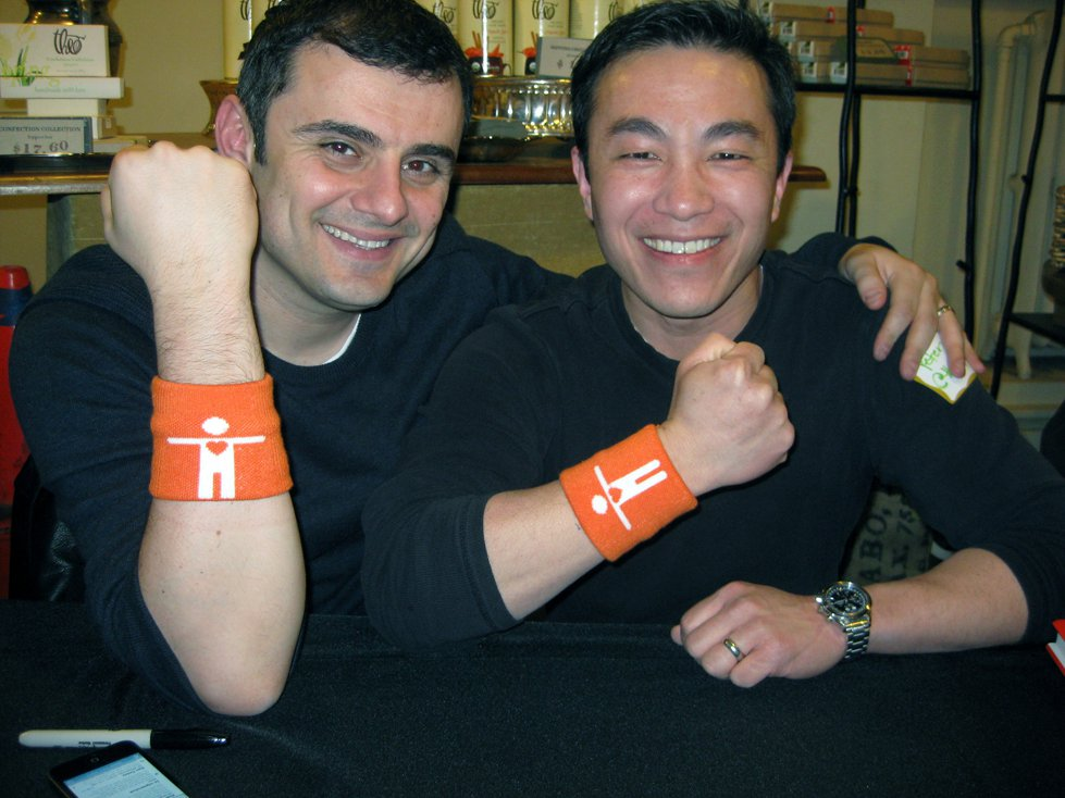 Gary Vaynerchuk and Peter Chee