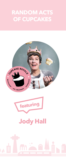 Jody 260x620 Seattle Startup Week | Scaling, and funding, and cupcakes! Oh my!