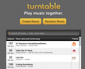 turntable.fm.rooms