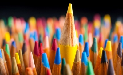 Lead from the middle box of crayons
